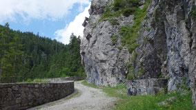 Alter Gaichtpass Richtung Tannheimer Tal