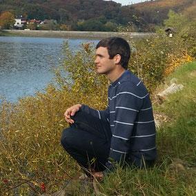 Johannes Strommer am Wienerwaldsee.