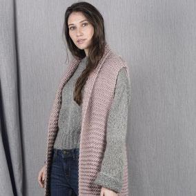 Laine Katia Ingenua Tweed Modèle Pull Femme