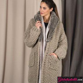 Laine Katia Merino Tout De Suite Modèle Manteaux Femme
