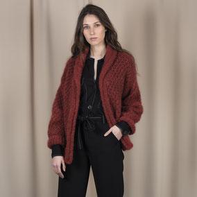Laine Katia Ingenua Tweed Modèle Veste Femme