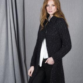Laine Katia Ingenua Tweed Modèle Manteaux Femme