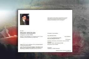 bidprentje van Frans Engelen