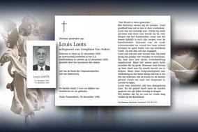 Louis Loots 23 december 1995