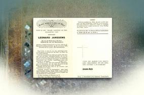 Leonard Janssens 21 november 1964