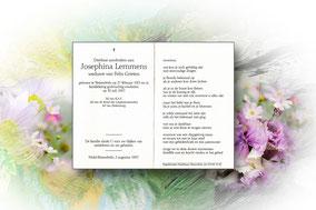 Josephina  Lemmens 30 juli 1997