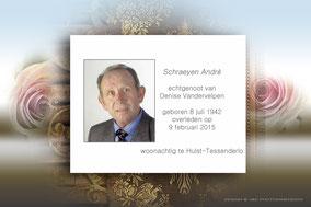 André Schraeyen 9 februari 2015