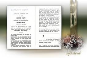 Louis Duts 31 juli 1983