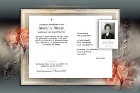 Stefanie Nicasy 23 februari 2001