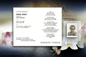 Noels Marie  6 maart 1990 ( dochter van  Frans Noels )