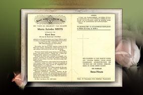 Maria Eulodia Neuts 31 juli 1958