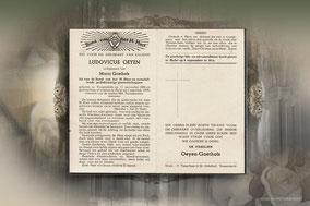 Ludovicus Oeyen 1 september 1956