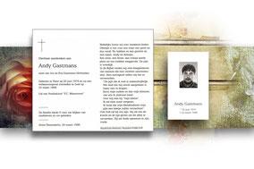 Andy Gastmans 23 maart 1996