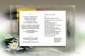 Alfons Nuyts 11 maart 1994