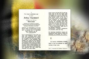 Arthur Vandebril 17 november 1969