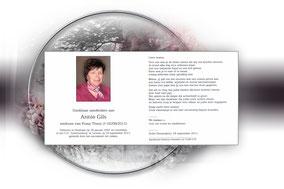 Annie Gils 19 september 2011-echtgenote van Frans Theys