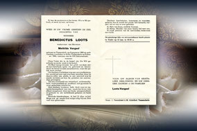 Benedictus Loots 8 januari 1966