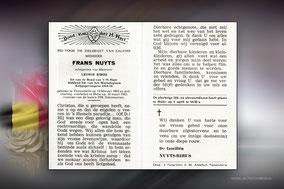 Frans Nuyts 30 maart 1963