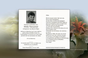 Hilda Vanuytsel 19 mei 1996