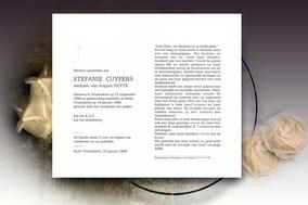Stefanie Cuypers 16 januari 1996