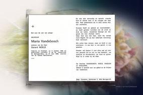 Maria Vandebosch 27 mei 1989