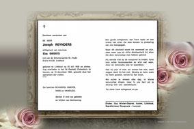 Bidprentje van kloosterzuster Marie-Leontine/Leonie Van Meersche