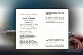 Frans Stalmans 23 oktober 1984