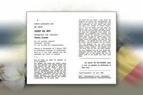 Jozef De Wit 17 juni 1989