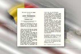 Louis Troonbeeckx 22 februari 1970