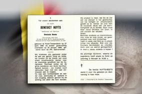 Benedickt Nuyts 30 januari 1968