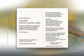 Jozef Sas 4 februari 1996