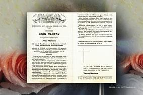 Leon Vanroy 18 maart 1966