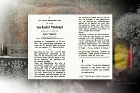 Jan-Baptist Vandereyd 21 januari 1968