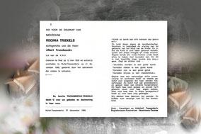 Regina Triekels  21 december 1989