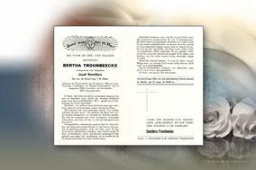Bertha Troonbeeckx  19 augustus 1964