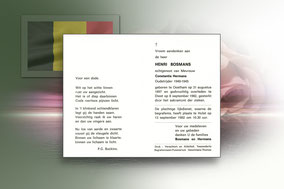 Henri Bosmans 8 september 1982