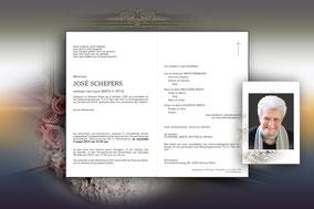 José Schepers (dochter van Henricus Schepers) 24 maart 2015-weduwe van Louis Beets overleden 2013