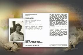 Maria Vrijs 5 maart 1995