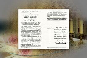 Jozef Clonen 18 november 1949