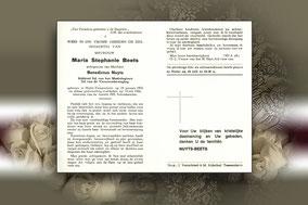 Maria Stephanie Beets 12 juli 1966