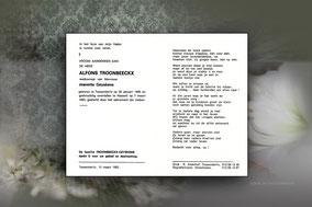 Alfons Troonbeeckx 7 maart 1993