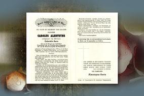 Carolus Alenteyns 14 september 1961