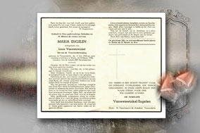 Maria Engelen 19 maart 1956