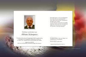 Alfons Schepers 31 maart 2001