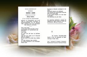 Maria Loos 20 februari 1983