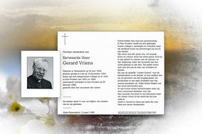 Gerard Vriens 26 februari 1996