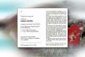 Maria Wevers 17 juni 1994