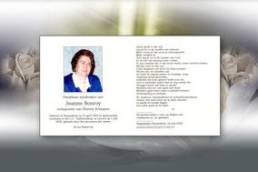 Jeanne Bonroy 7 mei 2002