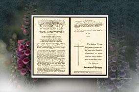 Frans Vansweevelt 5 juli 1949
