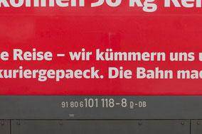 101 118-8 Deutsche Bahn - Kuriergepäck